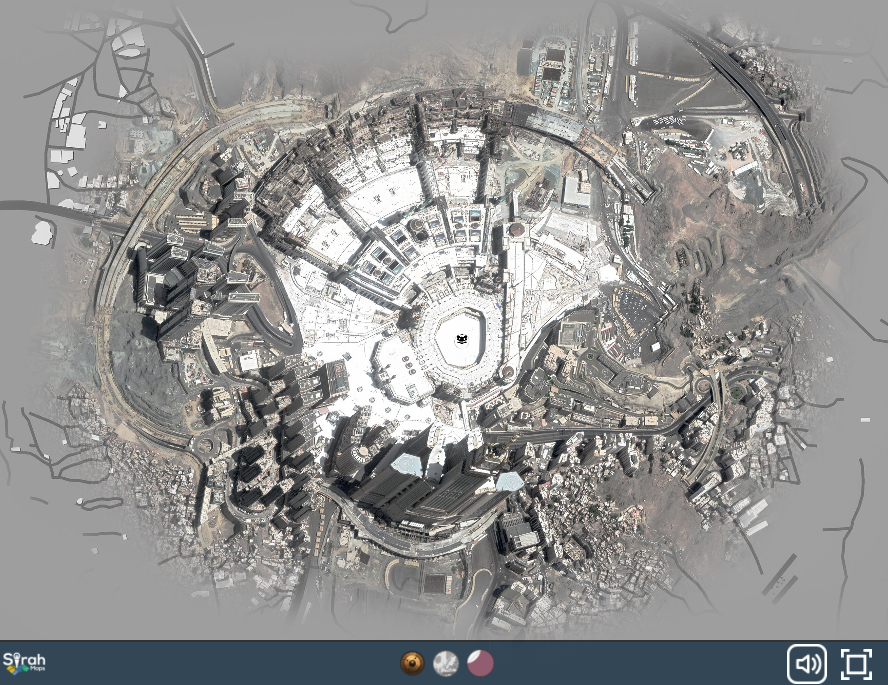 By Popular Demand: Announcing the New SirahMaps Interactive Comparison Map of Makkah!